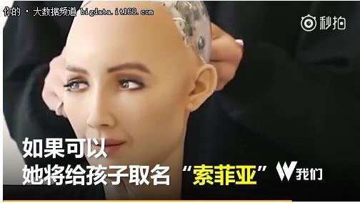 全球首个授予国籍机器人索菲亚计划生儿