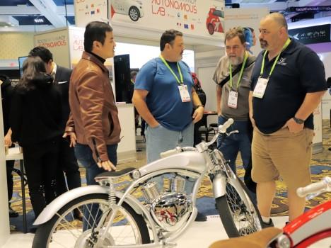 门罗Munro2.0亮相CES 诠释骑行科技与艺术