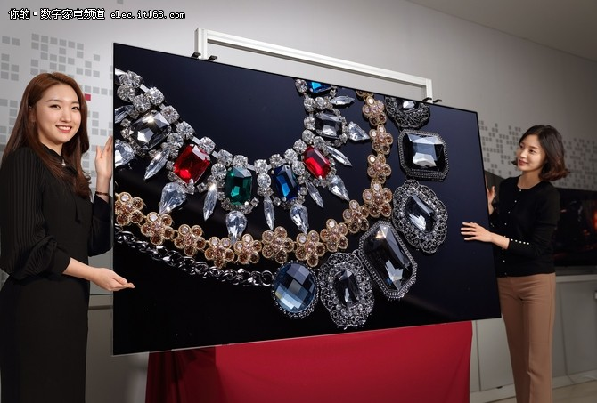 全球首款88英寸8K OLED面板将在CES展示