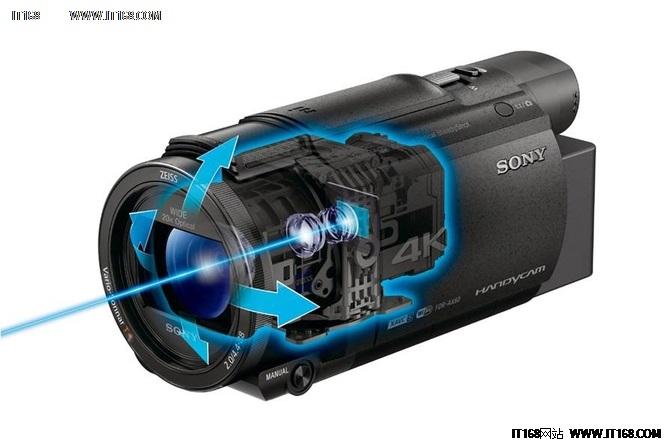 索尼发布两款 Handycam4K 摄像机新品