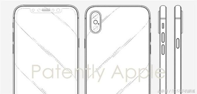 为求自保 苹果公布iPhone X异形屏申下专利