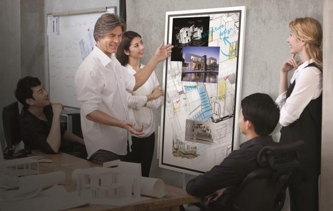CES 2018三星发布全新交互式电子白板