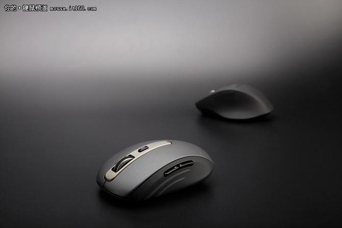 金属喷涂工艺 雷柏MT350无线鼠标图赏