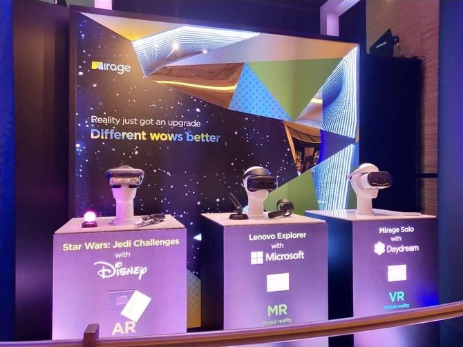 联想携多款智能显示设备亮相CES2018