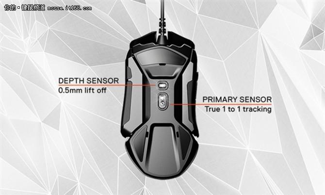 双传感器 赛睿发布新Rival 600鼠标