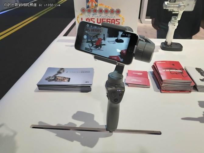 直击CES:大疆 OSMO Mobile 2 上手体验