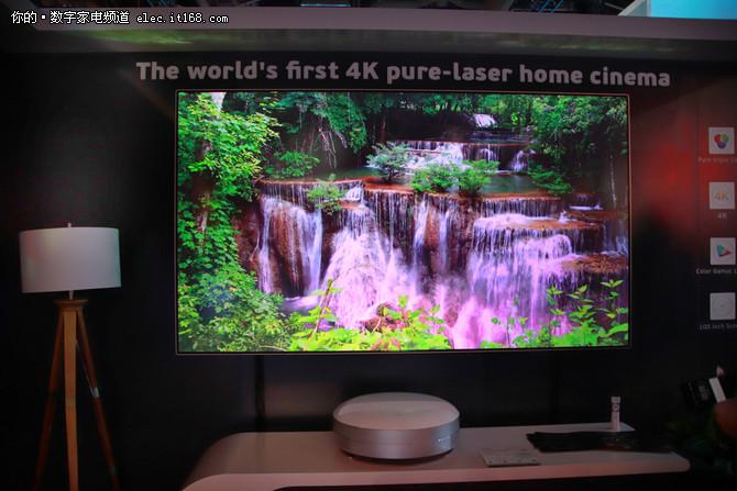 长虹发布首款家用三色4K激光影院