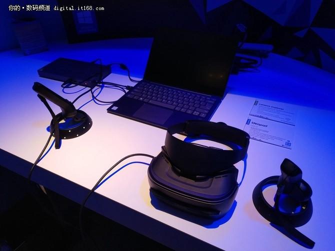 CES2018:联想发布VRAR 玩的就是新奇特