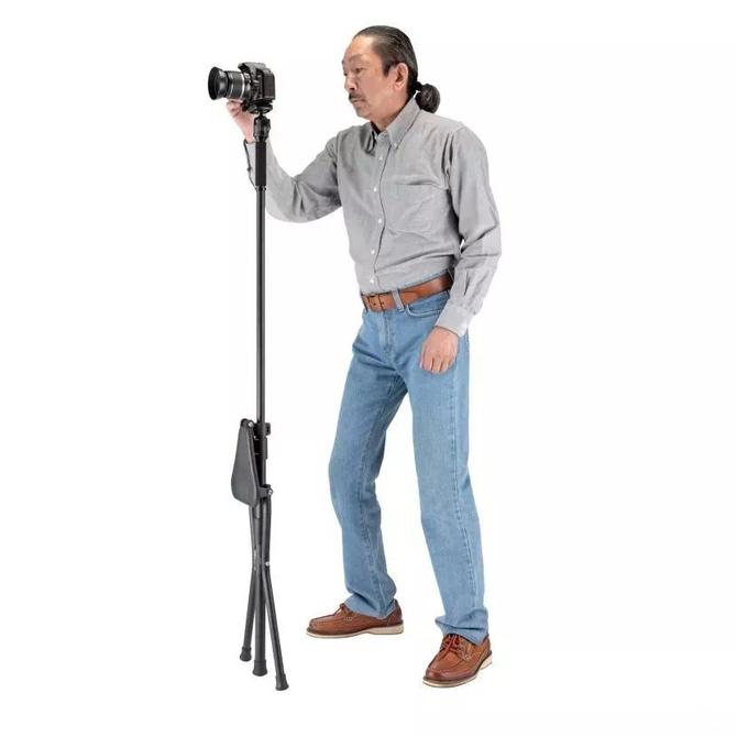 真·佛系摄影 金钟发布折叠椅式三脚架