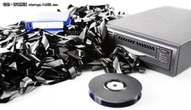 """现代存储架构:磁带存储在数据中心""""重生"""""""