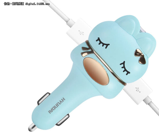 集蓝牙耳机 USB充电等于一体的车载神器