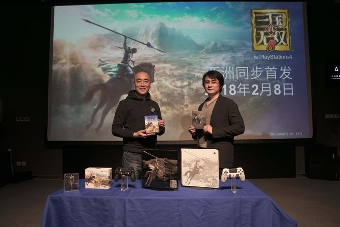 梦回三国 真·三国无双8限定版上线索尼PS4