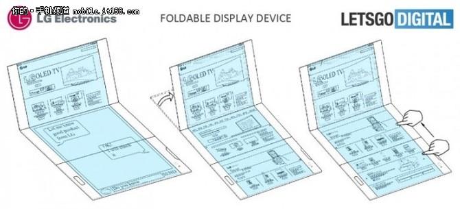 另一极的新趋势 LG也成功申请折叠屏幕专利