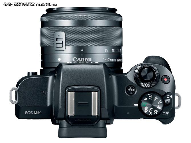 眼控对焦加4K视频 佳能EOS M50正式发布
