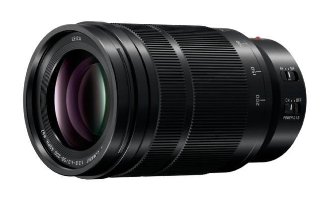 大光圈兼具便携 松下发布50-200mm镜头