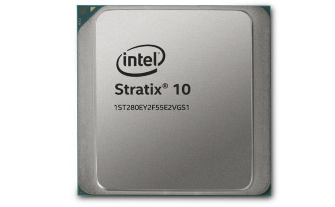 英特尔推Stratix 10 TX:EMIB与58G收发器