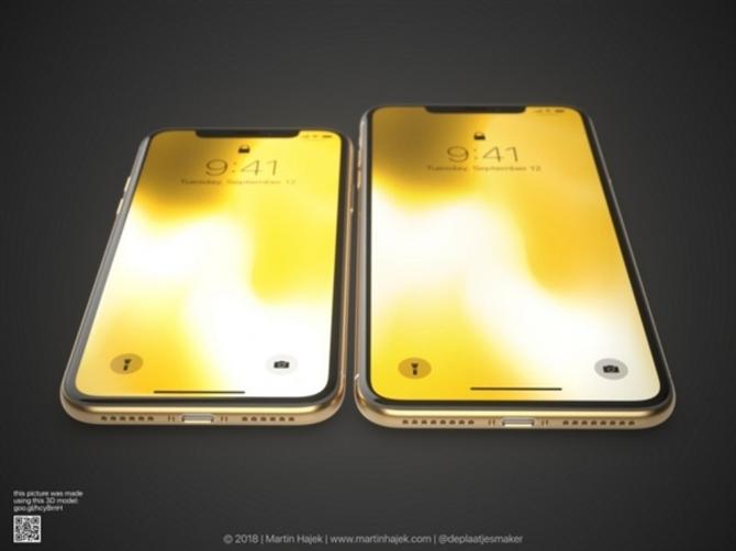 新iPhone X/X Plus金色版渲染图:黑金最有爱