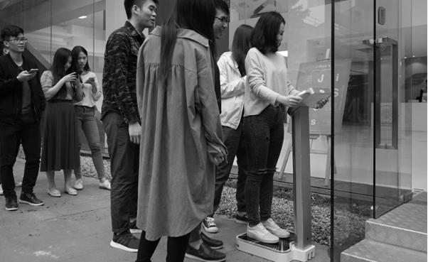 K魔秤 新生代共享体脂秤惊艳2018广州美博会