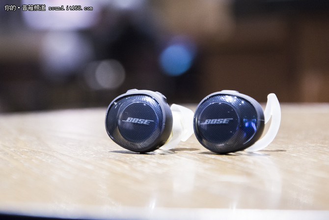 体验BOSE SoundSport Free分体无线耳机