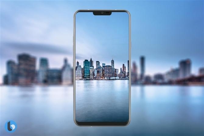 首款1440P刘海屏!LG G7高清外形曝光:骁龙845+6G