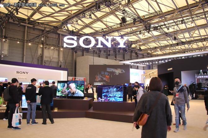 索尼OLED电视新品A8F在AWE迎来国内首秀