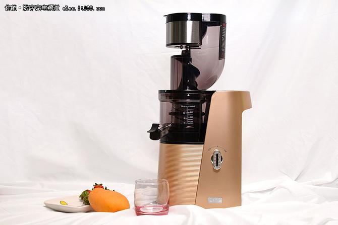 SKG A10原汁机试用:轻松搞掂水果冰沙