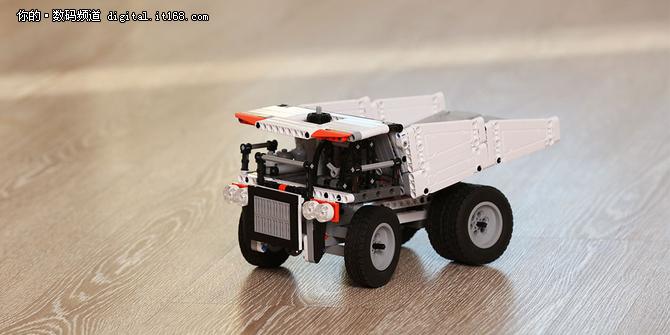 小米新玩具:米兔积木矿山卡车发布