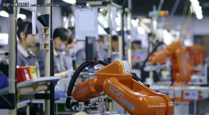 老牌键鼠大厂的自动化升级之路
