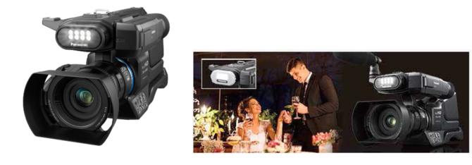 婚礼神器升级 松下发布肩扛摄像机MDH3