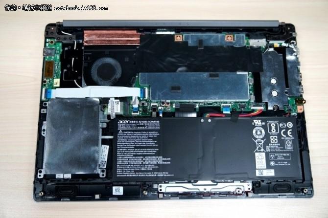 单风扇双铜管 Acer Swift 3笔记本散热解析