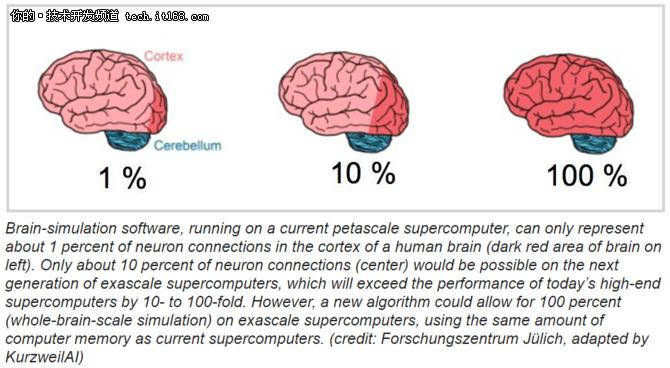 新发展,科学家研究出100%模拟人脑的算法