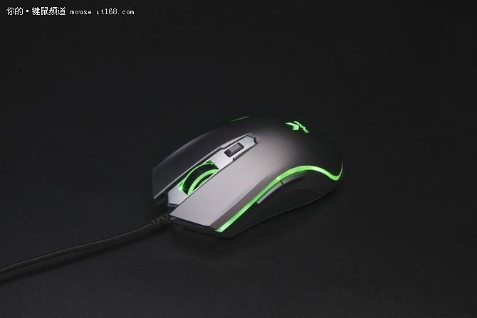芯的飞跃 雷柏V25PLUS幻彩RGB鼠标参数介绍
