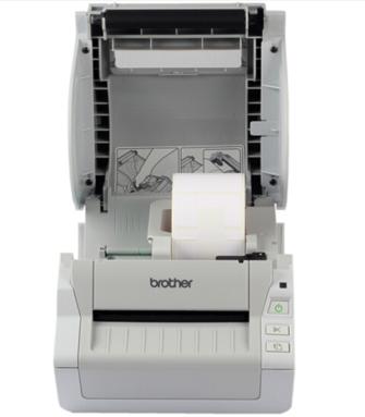 商户必备!兄弟TD-4000电子面单打印机
