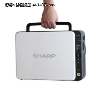 便携办公,夏普AL-1035-WH激光A4一体机