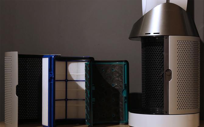 提供洁净空气 戴森发布全新空气净化风扇
