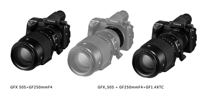 中画幅远摄大炮 富士发布GF250mmF4镜头