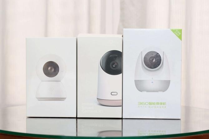 谁更安全易用?主流智能摄像机对比评测