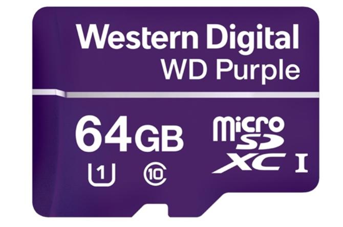 西数推出监控摄像头专用存储卡,为行业赋能