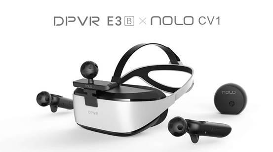 定位版PC VR门槛再降低! 大朋DPVR×NOLO VR解锁VR交互新姿势