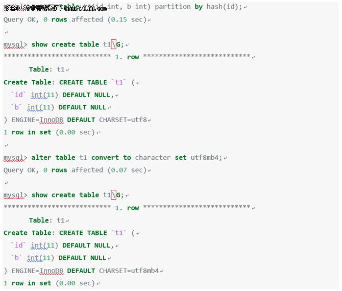RadonDB用户使用手册——所支持的SQL集