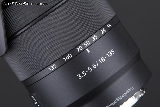 紧凑不失质感 索尼18-135镜头外观点评