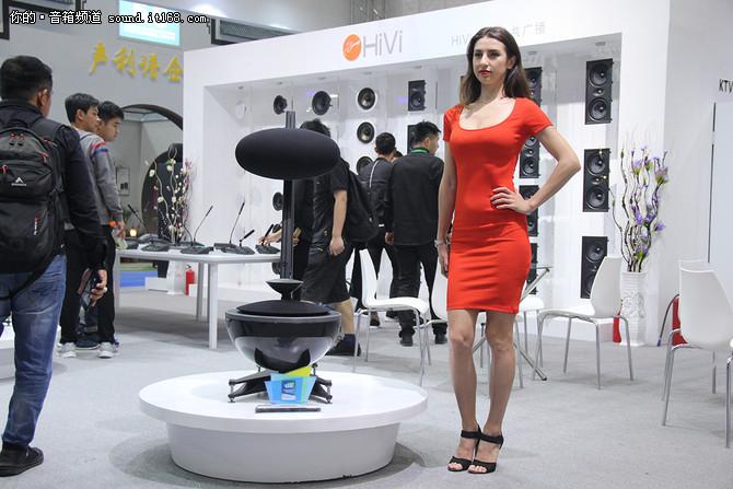 广州国际灯光音响展 惠威专业音响新品亮相