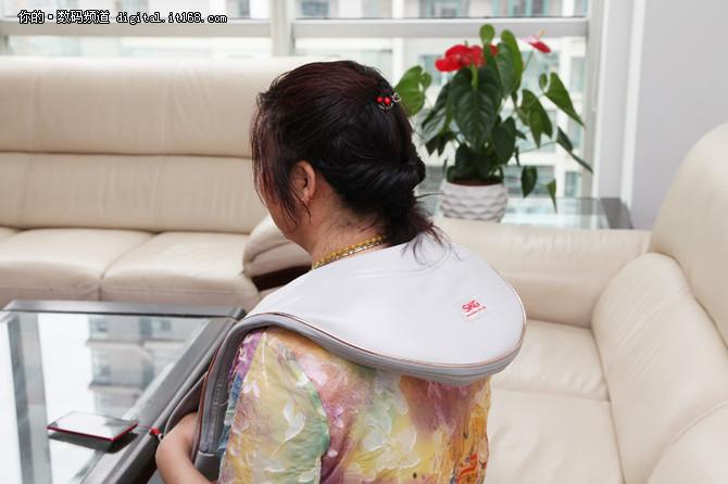 母亲节最佳礼物 SKG多功能按摩披肩体验