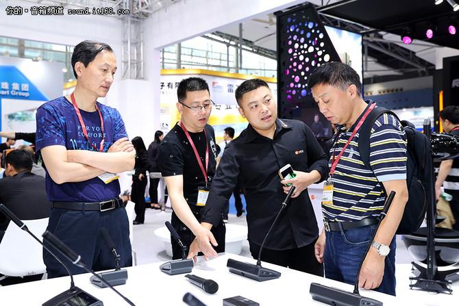 展会直击 惠威登场广州国际专业灯光音响展