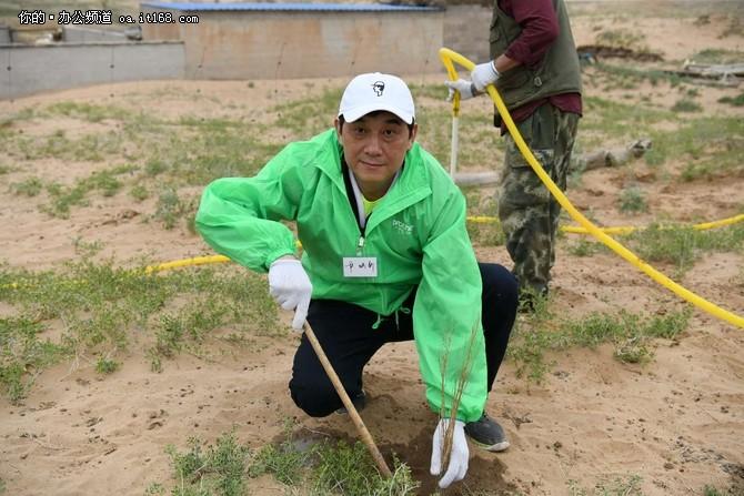 兄弟(中国) 内蒙古防沙漠化项目第7年