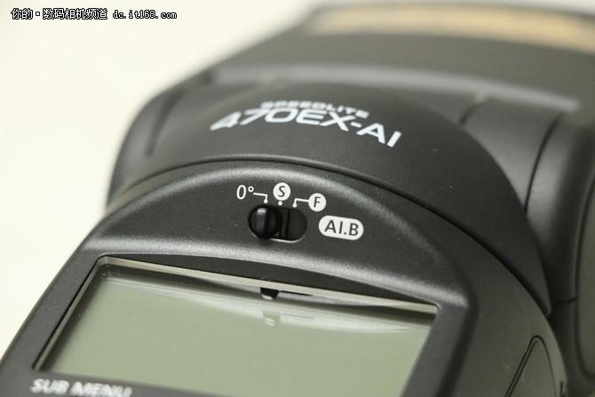 简单易用 佳能470EX-AI智能功能评测