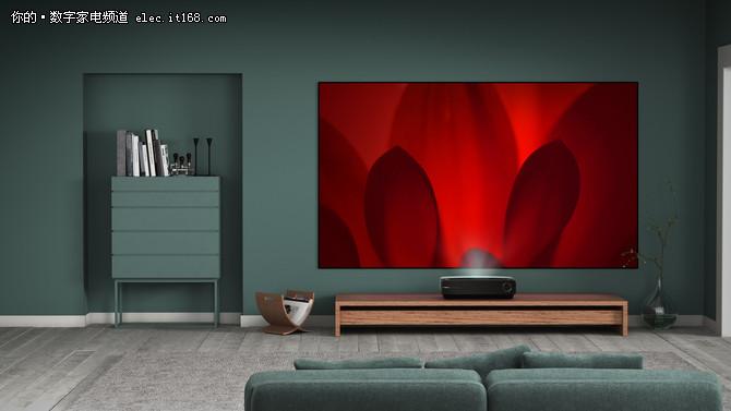 大屏电视颠覆者 海信80吋4K激光电视L5评测