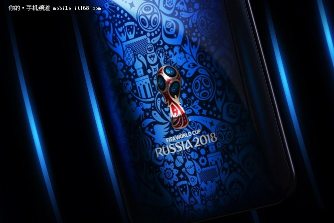 """有着一个俄罗斯世界杯的会微以及""""russia 2018""""等字样."""