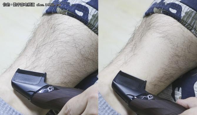告别体毛烦恼 松下ER-WGK6A电动体毛修剪器体验