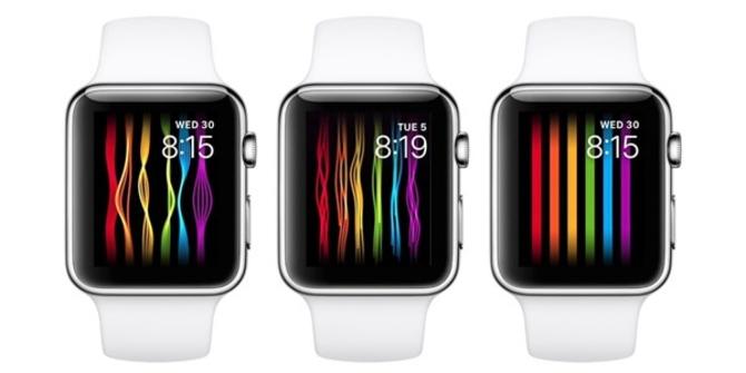 Apple Watch加入彩虹表盘 用户可抢先体验